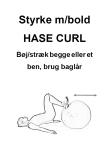 Cirkeltræning Circuit planche bold curl Træningsbog