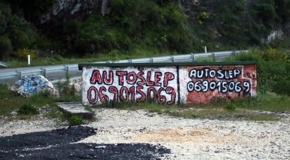 M Autoslep sten