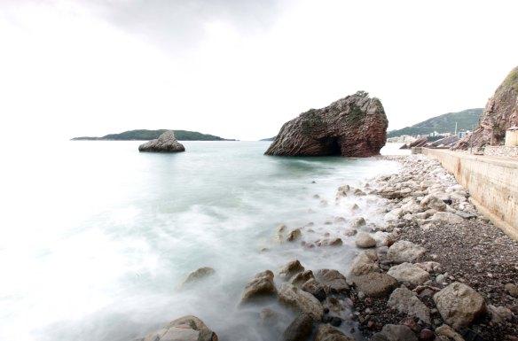 Montenegro Budva klippe Foto Henrik Elstrup