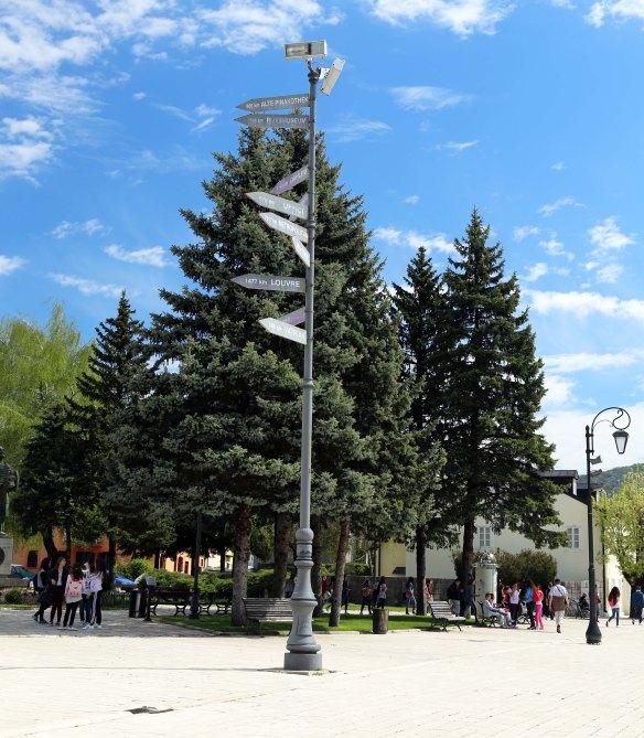 M Cetinje museumsskilt