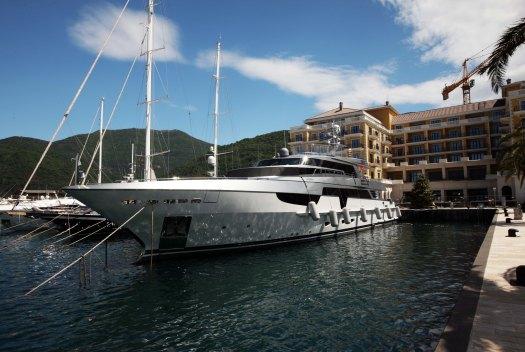 Montenegro Tivat yacht  Marina Aagaard fitness blog