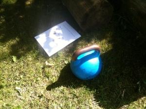 Cirkeltræning med kettlebell udendørs træning Marina Aagaard fitness blog