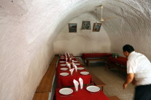 Tunesien berber hotel restaurant
