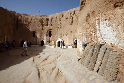 Tunesien berber hus