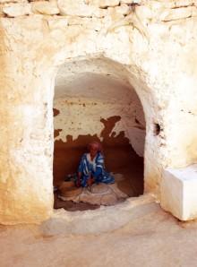 Tunesien berber mormor