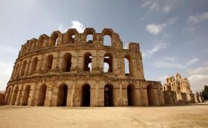 Tunesien El Djem back
