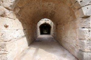 Tunesien El Djem basement