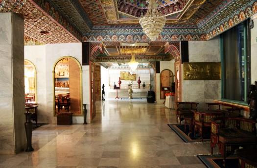 Tunesien Gafsa Hotel Jughurta Palace hall Marina Aagaard fitness blog