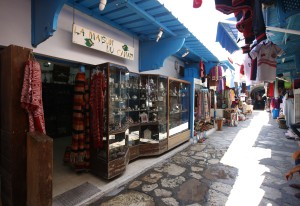 Tunesien Hammamet Medina butik