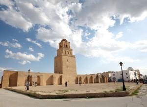 Tunesien moske total