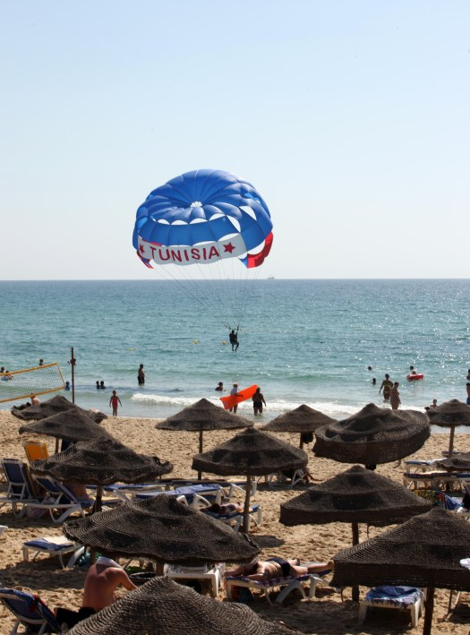 Tunesien parasailing Marina Aagaard fitness blog