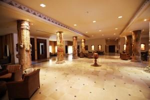 Tunesien Sahara Douz hotel hall