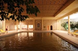 Tunesien Sahara Douz termal pool