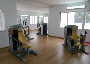 Tunesien Samira Club fitness center oppe