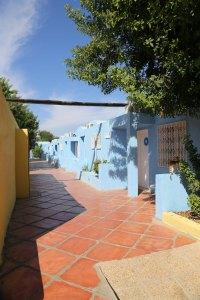 Tunesien Samira Club gul blå