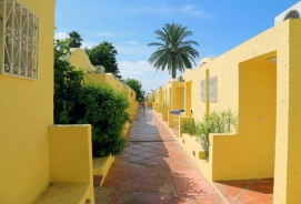 Tunesien_Hammamet_Samira_Club_gul_ferielejlighed