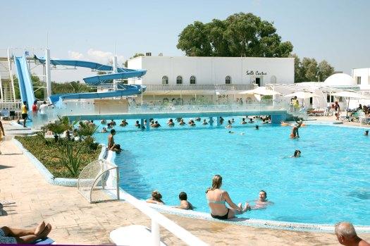 Tunesien Samira Club pool Marina Aagaard fitness blog