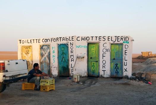 Tunesien toiletter Marina Aagaard fitness blog
