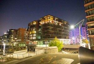 Hamburg aften bygninger