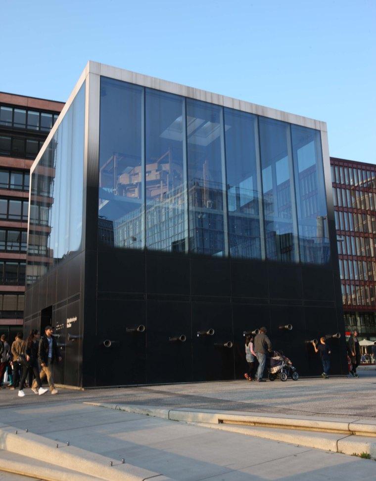 Hamburg Orkester Bygning med lyd
