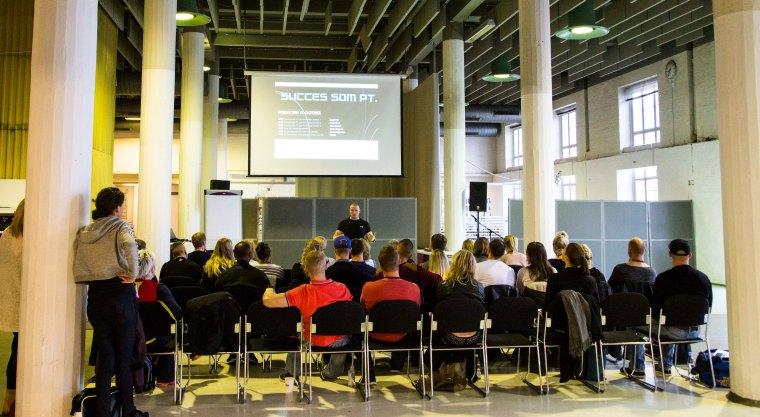 Fitness festival foredrag om personlig træning Marina Aagaard fitness blog