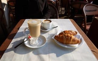 Venedig cafe morgen