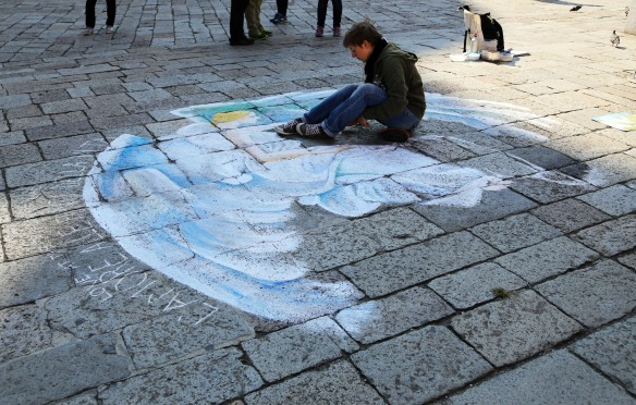 Venedig gadekunstner