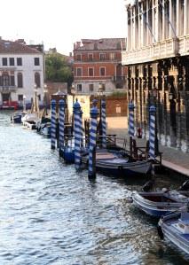 Venedig kanal pæle
