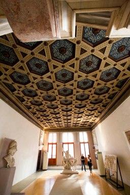 Venedig Palazzo rum og loft