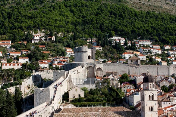Croatia_Dubrovnik_city_wall