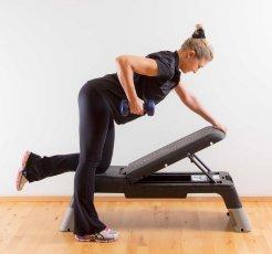 One_arm_row_kneeling_2_Marina_Aagaard_fitness_blog