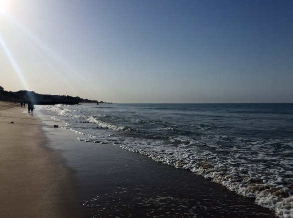 Algarve_Albufeira_Beach_at_Sunrise_Marina_Aagaard_blog