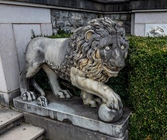 Lion-sculpture-Peles-Castle_Sinaia_Romania_Marina_Aagaard_blog